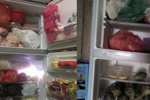 Chị em ngán ngẩm vì tủ lạnh vẫn ngập ngụa thức ăn thừa từ Tết