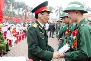 Ngày hội tòng quân các tỉnh Bắc Miền Trung