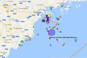 Tàu container đâm va trên biển, 9 thuyền viên thoát nạn