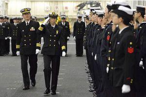 Ai là người phụ nữ đầu tiên chỉ huy hạm đội tàu chiến Nhật Bản?