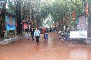 Bắc Ninh: Hết cảnh lấn chiếm lòng đường, buôn bán tràn lan ở Đền Đô