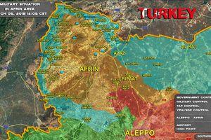 Quân Thổ Nhĩ Kỳ chiếm 2 cứ địa người Kurd, tuyên bố diệt 2.777 'kẻ khủng bố'
