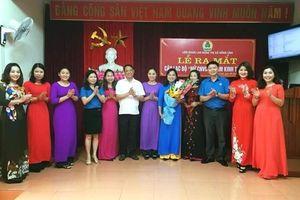 Ra mắt CLB 'Nữ Công nhân viên chức lao động làm kinh tế giỏi'