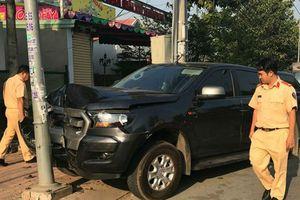 Thông tin mới vụ tông ô tô vào 3 CSGT Bình Dương