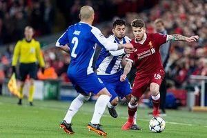 Hòa nhẹ Porto, Liverpool vào tứ kết Champions League