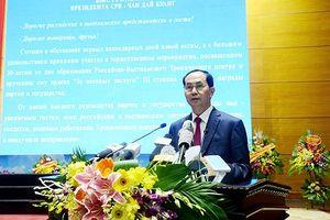 Chủ tịch nước dự kỷ niệm 30 năm thành lập Trung tâm Nhiệt đới Việt-Nga
