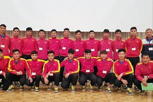 U16 Việt Nam có buổi tập đầu tiên tại Nhật Bản