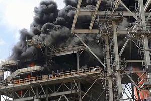 Cháy Nhà máy Nhiệt điện Duyên Hải - Trà Vinh