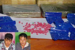 Bắt hai anh em người Lào vận chuyển số lượng lớn ma túy