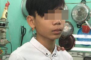 Bắt khẩn cấp thiếu niên 15 tuổi nghi dùng dao cứa cổ xe ôm cướp tài sản