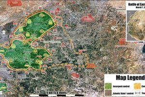 'Hổ Syria' chủ công đè bẹp phiến quân, ra đòn chia cắt Đông Ghouta
