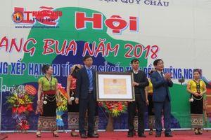 Nghệ An: Rộn ràng khai mạc Lễ hội Hang Bua
