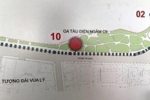 Lấy ý kiến nhân dân xây ga tàu điện ngầm cạnh hồ Hoàn Kiếm