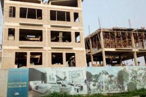 Hà Nội: 26 biệt thự ngang nhiên xây dựng 'chui' tại Dự án Khai Sơn Hill Long Biên