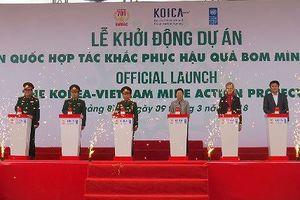 Khởi động dự án 20 triệu USD khắc phục hậu quả bom mìn cho hai tỉnh miền Trung