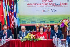 Giải Cờ vua Quốc tế HDBank 2018 lần đầu tiên diễn ra tại Hà Nội