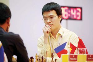 Lê Quang Liêm tranh tài cùng các kỳ thủ quốc tế