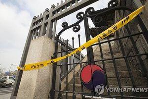 Cổng thành cổ ở trung tâm Seoul bị phóng hỏa giữa đêm