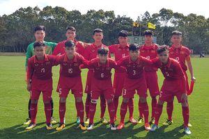 U16 Việt Nam tạm giữ ngôi đầu bảng D giải U16 Nhật Bản- Asean 2018