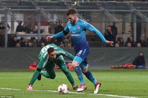 AC Milan 0-2 Arsenal: Định đoạt ở hiệp 1, đặt một chân vào tứ kết