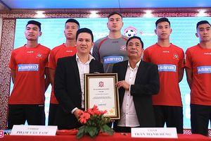 Tập đoàn Asanzo tài trợ, Hải Phòng mơ về tốp 3 V-League