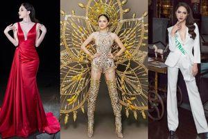 Loạt váy áo sexy giúp Hương Giang tiến thẳng vào chung kết Hoa hậu chuyển giới Quốc tế