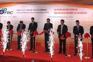 Gần 200 gian hàng tham gia Hội chợ triển lãm FBC Hà Nội 2018