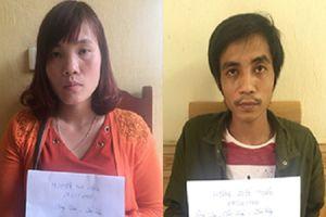 Vợ lập facebook, cùng chồng lôi kéo người đi lao động chui