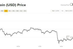Giá Bitcoin tiếp tục suy yếu vì bị kiểm soát