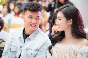 Hoa hậu Đỗ Mỹ Linh và Bùi Tiến Dũng thu hút chú ý ở sự kiện
