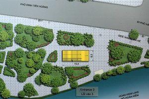 Ga tàu điện ngầm sát Hồ Gươm: Băn khoăn nhạy cảm
