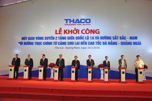 Xây nút giao thông vòng xuyến 2 tầng 600 tỷ đồng tại tỉnh Quảng Nam