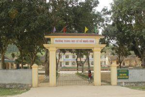 Huyện Tân Kỳ, Nghệ An: Lo lắng vì trong khuôn viên trường chôn thuốc trừ sâu