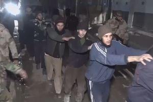 Binh lính nổi dậy đầu hàng ở Đông Ghouta nhờ nỗ lực của Nga
