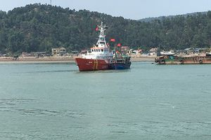 Tàu cá hỏng máy, thả trôi ngoài biển 2 ngày được ứng cứu kịp thời