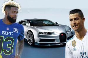 Ronaldo khiến Odell Beckham 'lác mắt' bằng siêu xe 'khủng'