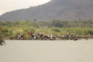 Gia Lai: 3 học sinh mất tích khi tắm sông