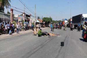 1 phụ nữ bị container cán tử vong khi đi chơi Suối Tiên