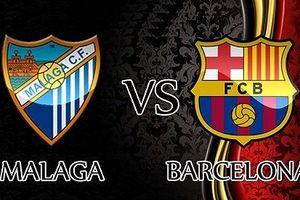 Malaga - Barca: Dạo chơi chờ đại chiến