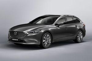 Những thay đổi trên Mazda6 Wagon 2018 phiên bản nâng cấp