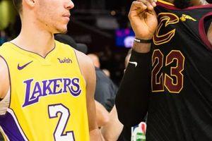 Lakers vs Cleveland: Đồng đội Lonzo Ball có mù quáng yêu LeBron James?
