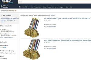 Chổi chít, rau răm Việt Nam đăng bán trên Amazon với giá 'ngất ngưởng'