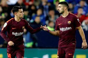 Barca nhẹ nhàng vượt qua Malaga dù không có Messi