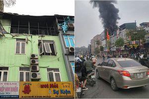 Cháy lớn tại ngôi nhà cho thuê dịch vụ cưới hỏi ở Hà Nội