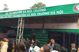 Trường Đại học TN&MT Hà Nội: Tham gia Ngày hội Tư vấn tuyển sinh – hướng nghiệp 2018
