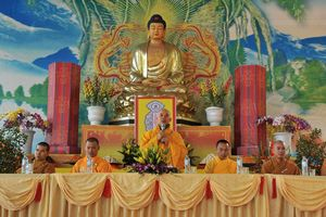 Giáo hội Phật giáo tổ chức khai pháp, cầu an đầu xuân Mậu Tuất