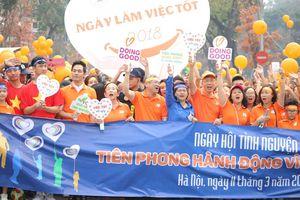 5.000 người đi bộ gây quỹ vì cộng đồng trong Ngày hội tình nguyện