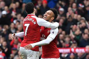 Arsenal 3-0 Watford: Aubameyang, Mkhitaryan thay nhau lập công