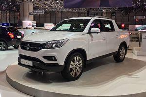 Ssangyong Musso - xe bán tải xứ Hàn đối đầu Ford Ranger