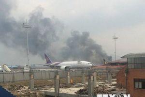 Nepal: Tìm thấy thi thể nạn nhân vụ tai nạn máy bay ở Kathmandu